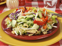Бързи пържени зеленчуци
