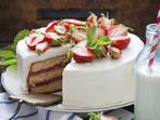Торта с кексово тесто и сметана