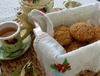 Бисквити с овесени ядки (без добавени сол и захар)