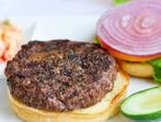 Хамбургери с пържен кромид лук