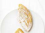 Бутерки с малиново сладко и орехи