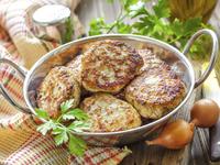 Картофени кюфтета с праз