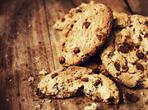 Бисквити с шоколадови парченца