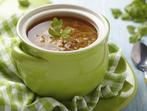 Супа от леща с пушени ребра