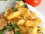 Картофи с масло и сминдух