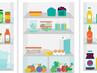 Как да подредим правилно хладилника?