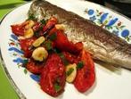Печена риба с домати