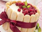 Торта от сладолед и бишкоти
