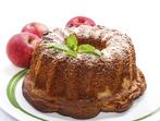 Кекс с ябълки и два вида захар