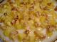 Млечен десерт с карамелизирани ябълки