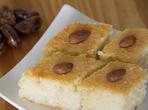 Сиропиран десерт с кисело мляко