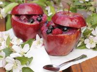 Есенни ябълки с пълнеж