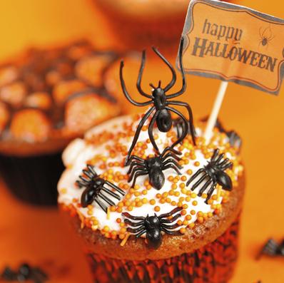 """Кексчета """"паяжина"""" за Хелоуин"""