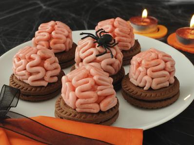 """Бисквити """"мозък"""""""