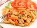 Макарони с пиле в гръцки стил