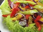 Испанска салата от цикория и пиперки