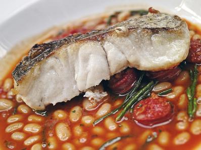 Бърза вечеря с риба