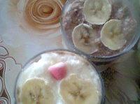 Двуцветен домашен крем с банани