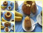 Кекс с карамелизирани банани