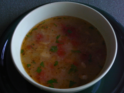 Постна супа със зеленчуци