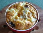 Суфле със спанак и сирене