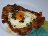 Телешки шницел с яйце
