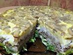 Многослойна солена торта (Русия)