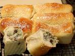 Млечен хляб с плънка от риба тон и картофи