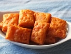 Домашни крекери със сирене