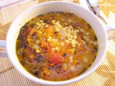 Супа от кайма, кускус и зеленчуци