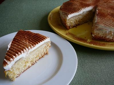 Бърза торта с манго