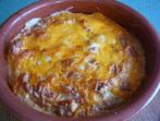 Суфле от тиквички и сирене