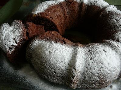 Шоколадов кейк с орехи