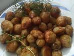 Пресни картофи с копър и мащерка