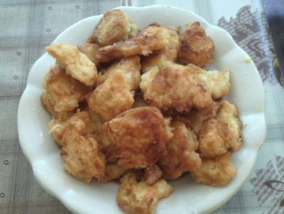 Хрупкави пилешки хапки