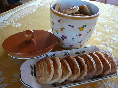 Oрехови бисквити с ванилия