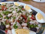 Турска бобена салата - Пияз
