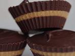 Шоколадови бонбони с фъстъчено масло