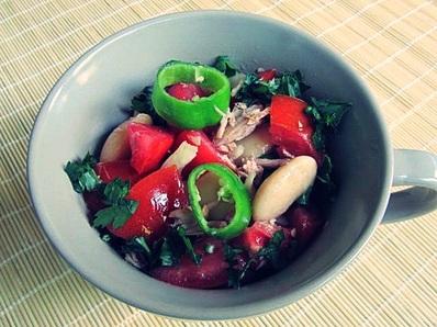 Лятна салата с риба тон