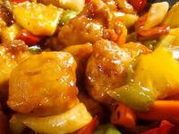 Сладко-кисело свинско със зеленчуци