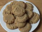 Фъстъчени бисквитки с 3 съставки