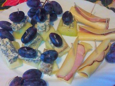 2 вида предястие с грозде