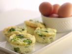 Яйчени мъфини с броколи