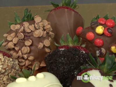 """Уникални """"бонбони"""" от ягоди"""
