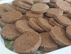 Какаови бисквити с орехи