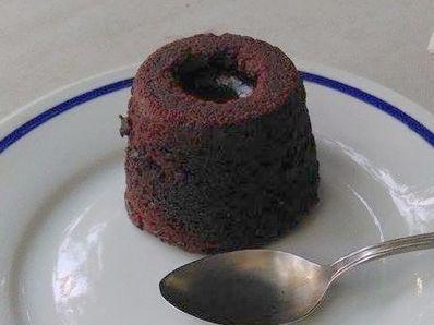 Шоколадово суфле с течен център