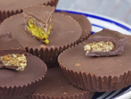 Шоколадови бонбони с лешников пълнеж