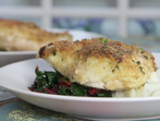 Хрупкаво печено пилешко с пармезан