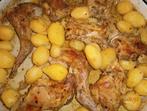 Заешко печено с картофи