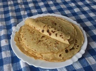 Здравословни палачинки с овесено брашно
